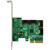 HighPoint Rocket 640L 16-port Serial ATA Controller - Serial ATA/600 - PCI Express 2.0 x4 - Plug-in Card - RAID Supported - 0, 1 RAID Level - 4 Total SATA Port(s) - 4 SATA Port(s) Internal SATA P