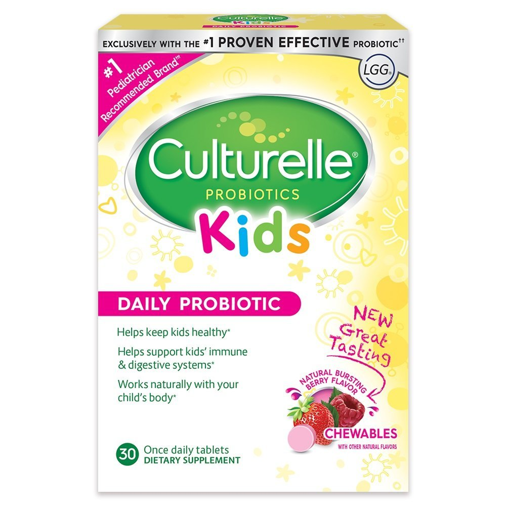 Culturelle Kids Daily Probiotic Chewable Dietary Supplement