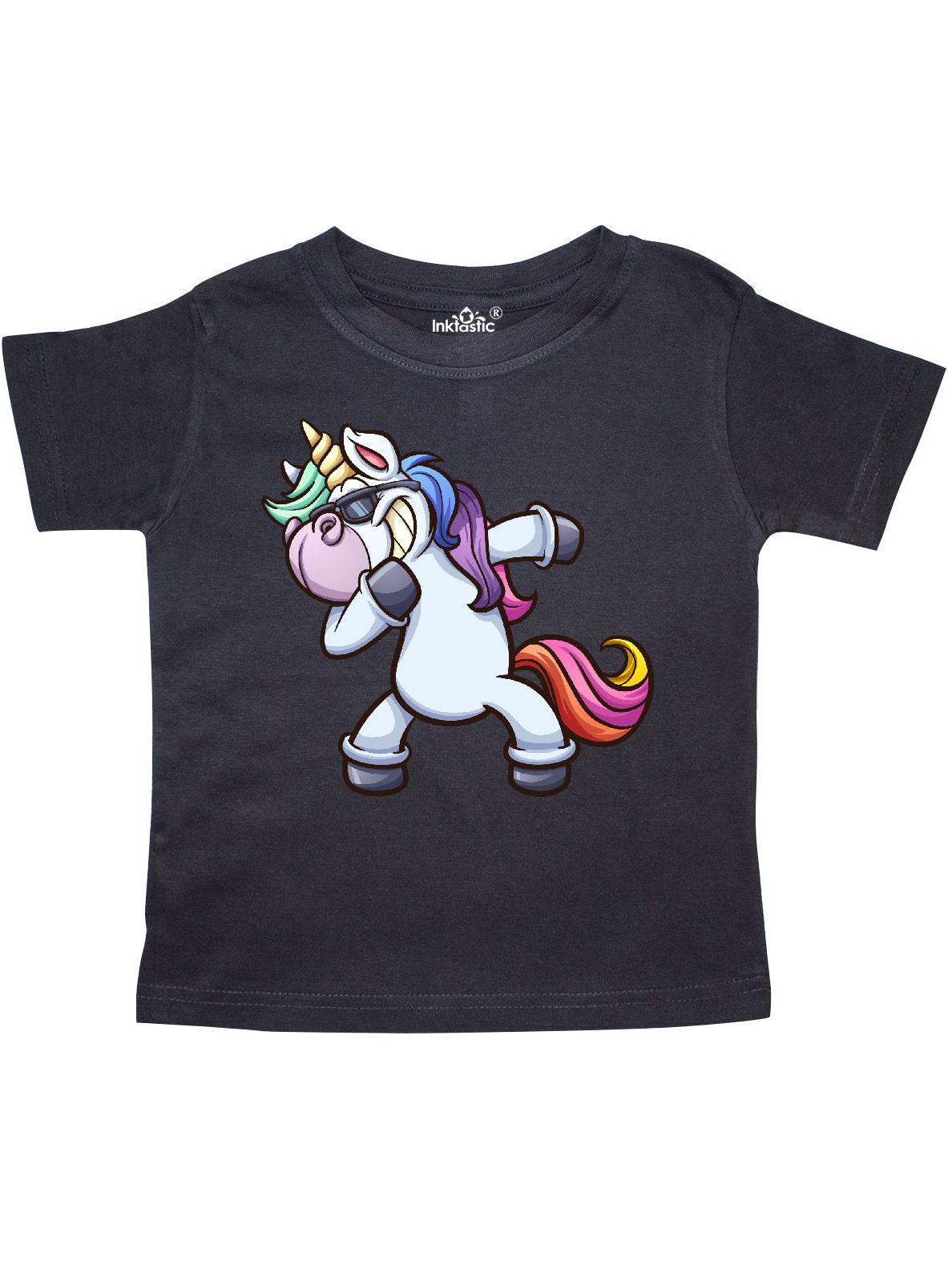 Dabbing Unicorn Toddler T-Shirt