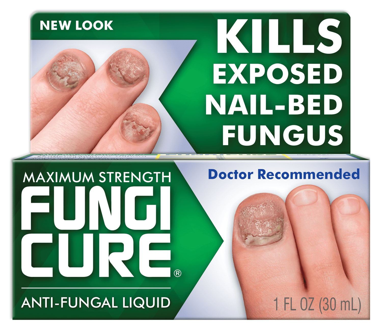 Fungicure Maximum Strength Anti-Fungal Liquid, 1 Fl. Oz. - Walmart.com