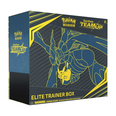 POKEMON SUN & MOON 9 TEAM UP ELITE TRAINER BOX (Pokemon Sun And Moon Best Pokemon Game)