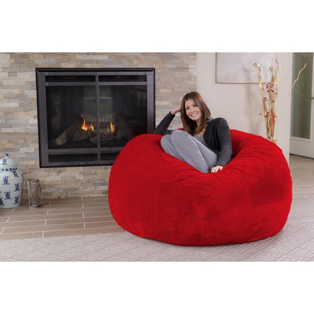 Chill Sack 5 Ft Bean Bag Chair Multiple Colors Fabrics