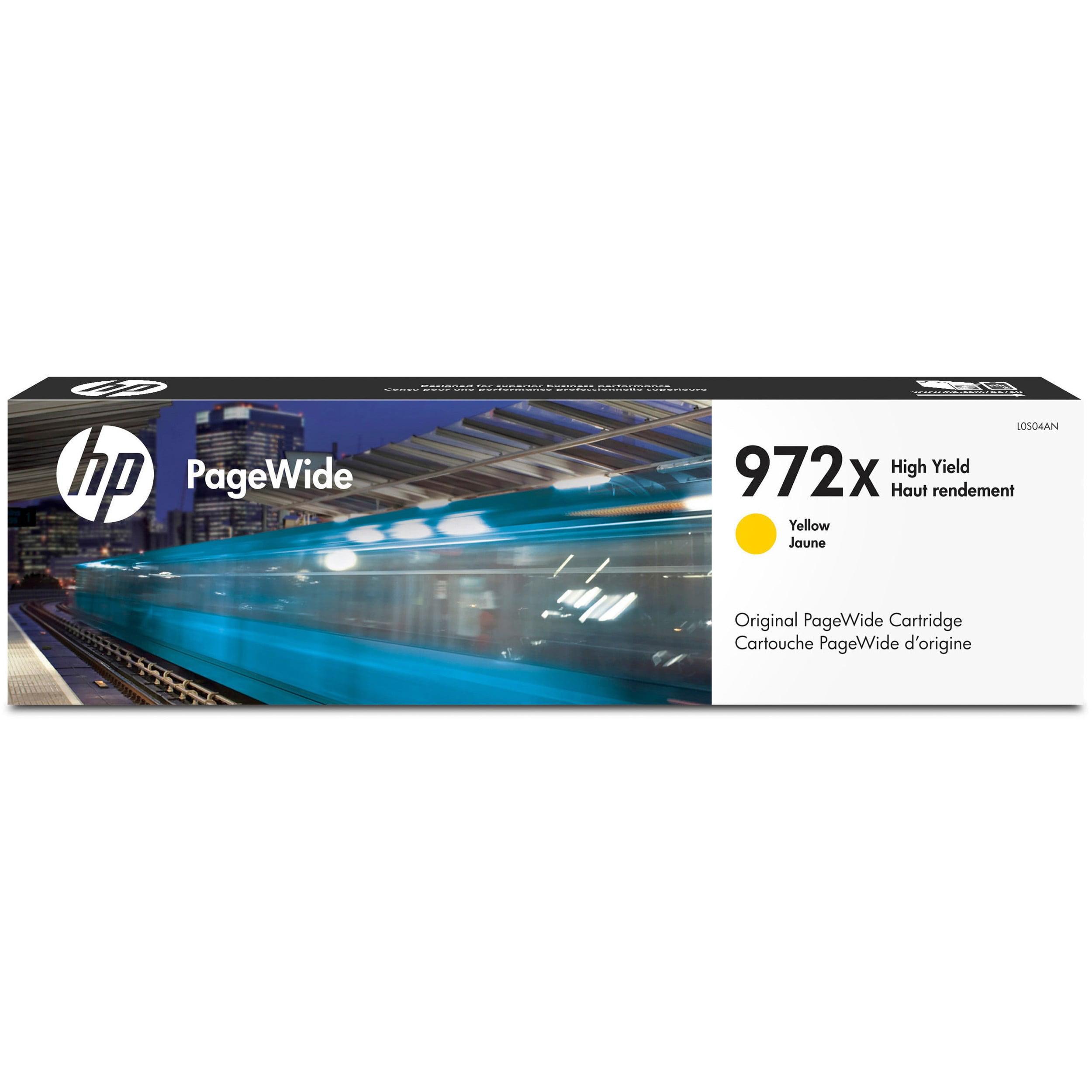 HP 972X Hi YD YLLW PW cart