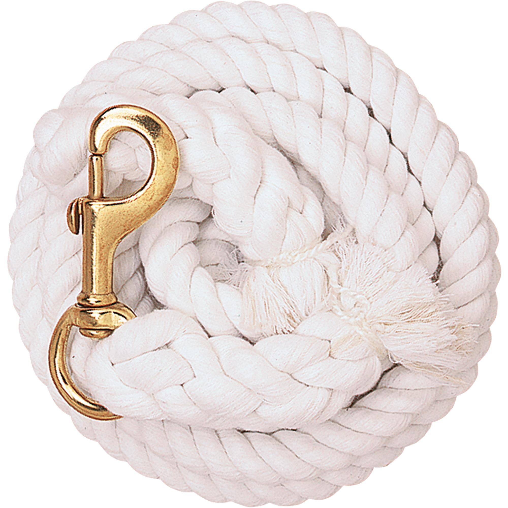 White Cotton Lead Rope