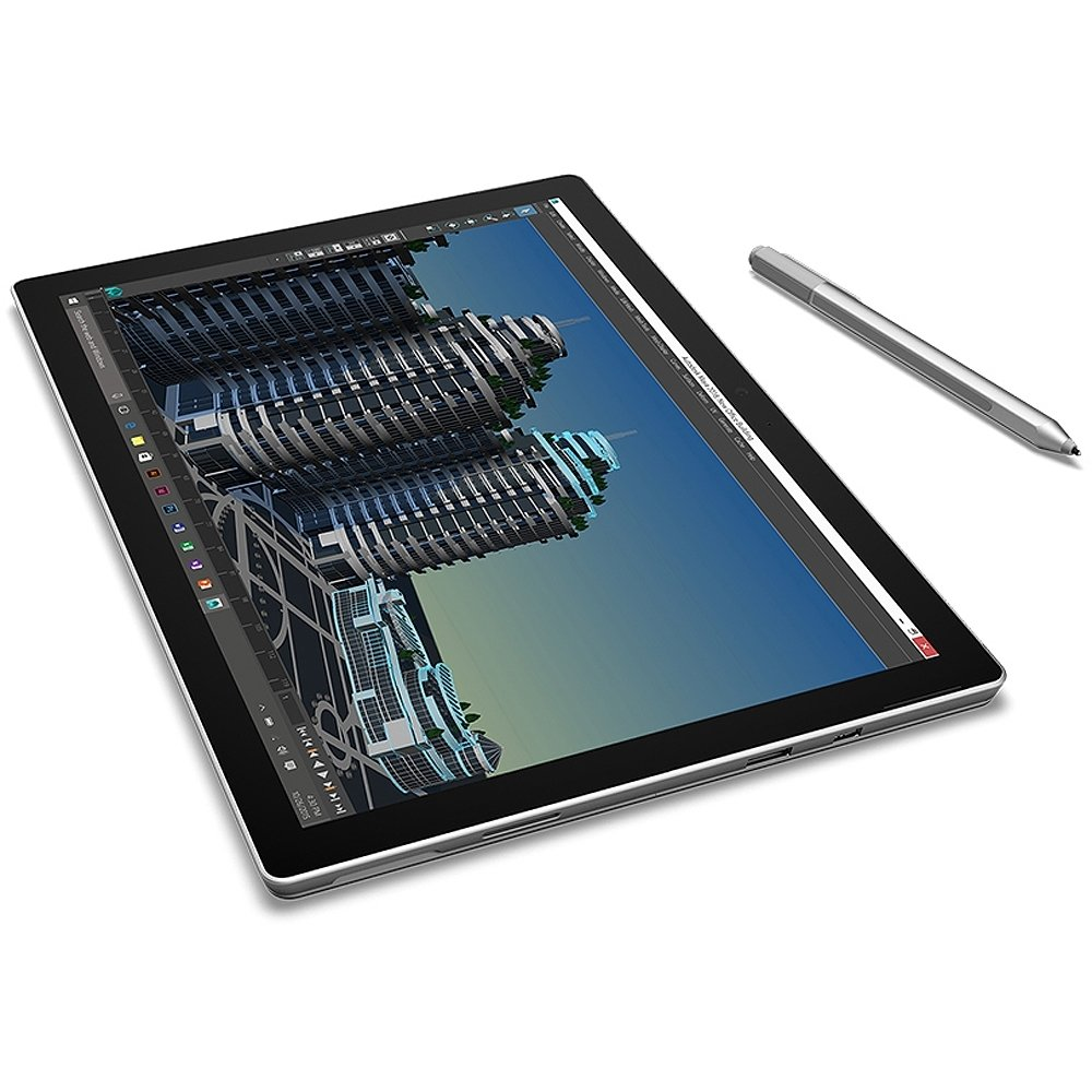 "Microsoft Surface PRO-4 256 GB Intel Core i5-6300U X2 2.4GHz 12.3"",Silver (Certified Refurbished)"