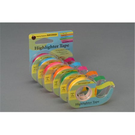 Lee Products Company LEE19976 Removable Highlighter Tape Fluorscent Green - image 1 of 1