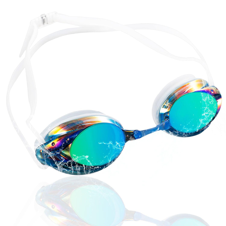 9fa47568 Swimming Cap Swim Hat Silicone (Blue) + Anti Fog Swimming Goggles UV  Protection (Mirror Blue/White) for Adult Men Women Unisex by Zodaca    Walmart Canada