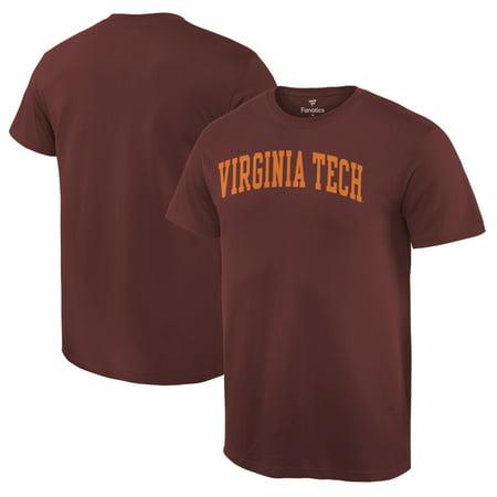 Virginia Tech Hokies Fanatics Branded Basic Arch T-Shirt - Maroon - Virginia Tech Halloween