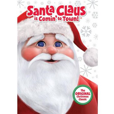 Santa Claus Is Comin To Town The Original Christmas Classic Blu Ray Dvd Walmart Exclusive Full Frame