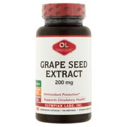 Olympian Labs Grape Seed Extract Vegetarian Capsules, 200 mg, 100 count