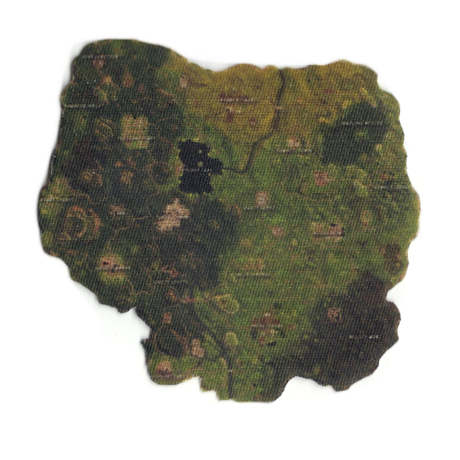 Shooting Battle Mini-map Logo Print Iron On Patch