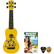 Rise by Sawtooth Beginner\'s Ukulele with Picks, Morning Sun