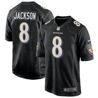 Lamar Jackson Baltimore Ravens Nike Game Event Jersey - Black