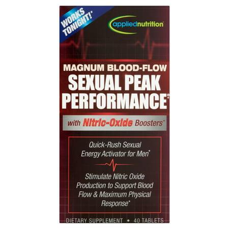 APPLIED NUTRITION flux sanguin Magnum Peak Performance sexuelle supplément alimentaire Comprimés, 40 count