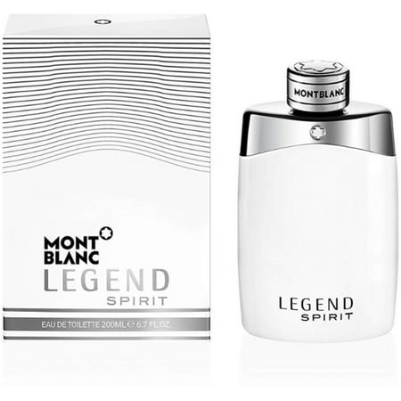 Montblanc Legend Spirit Eau de Toilette Spray for Men, 6.7