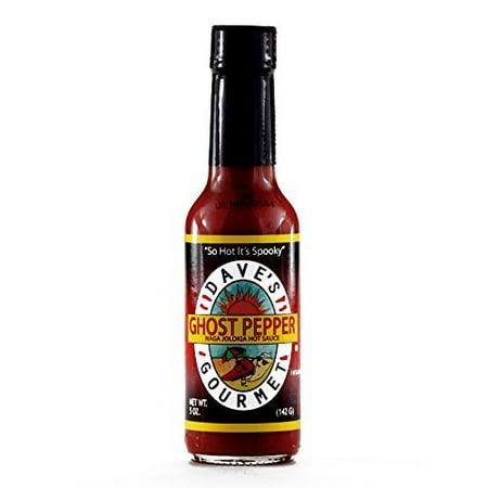 Daves Gourmet Ghost Pepper Hot Sauce 5 oz each (2 Items Per (Daves Hot Sauce)