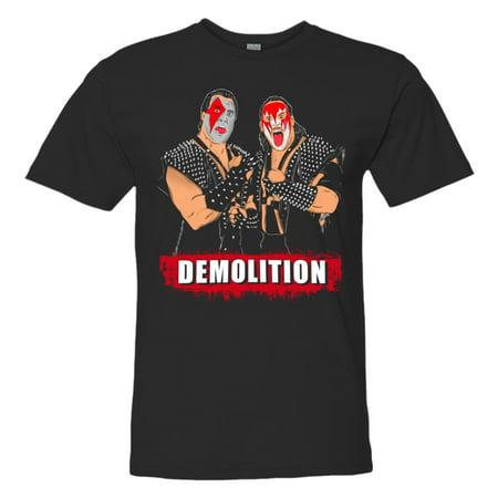 LICENSED Pro Wrestling Tees™ Adult Mens Unisex Demolition Ax and Smash HQ Fashion Tee