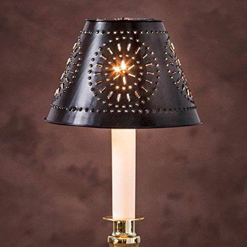 Cvl Mini Vintage Metal Lamp Shade Black Metal With