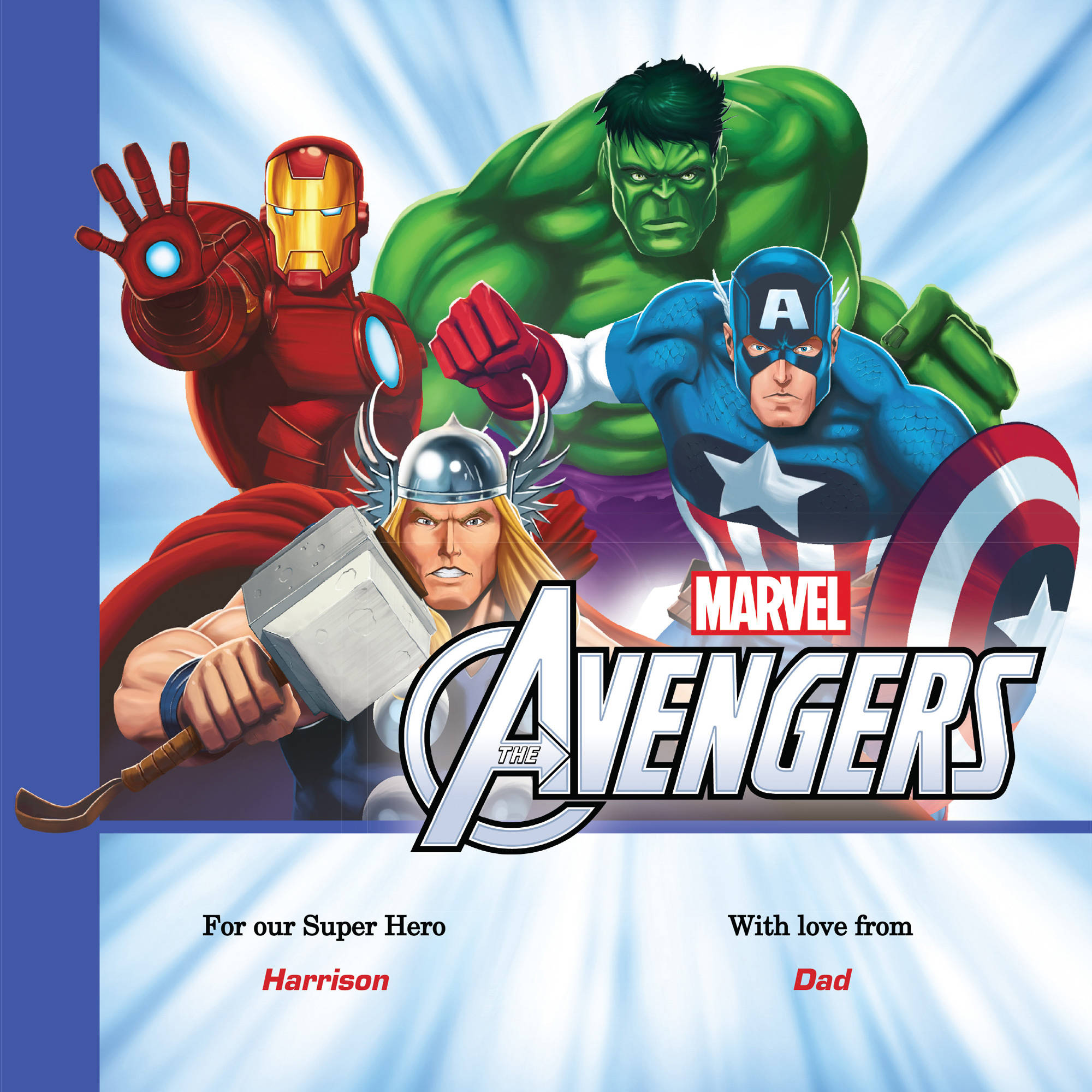 Personalized Book - Marvel's The Avengers