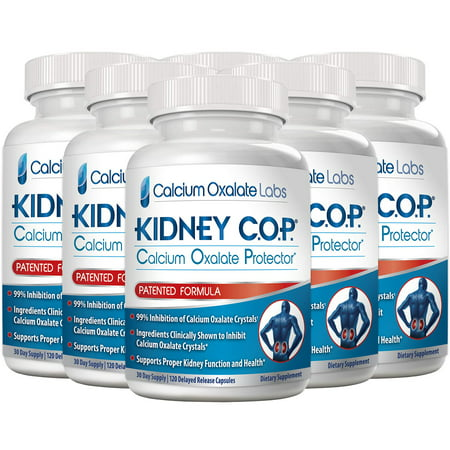 Kidney COP Patented Formula Helps Stop Recurrence of Stones Formed by Calcium Oxalate Crystals | Stronger Than Stone Breaker & Chanca Piedra (Best Way To Pass Kidney Stones Naturally)
