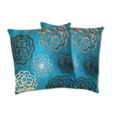 Special Edition By Lush Decor Covina Pillow Set Of 40 Walmart Cool Lush Decor Special Edition Pillows