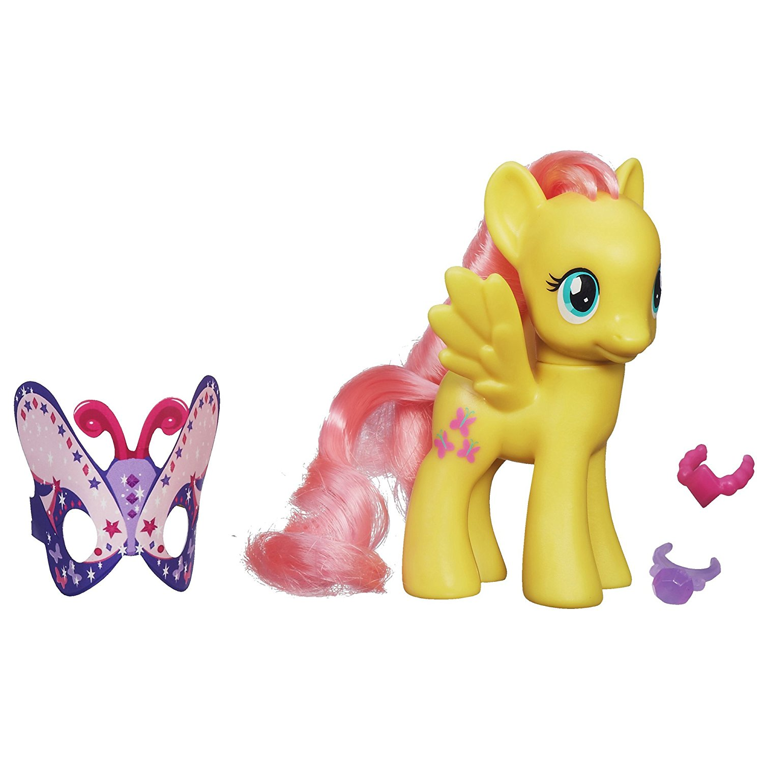 Princess Celebration Fluttershy Figure Doll, Stylish Fluttershy pony figure By My Little Pony