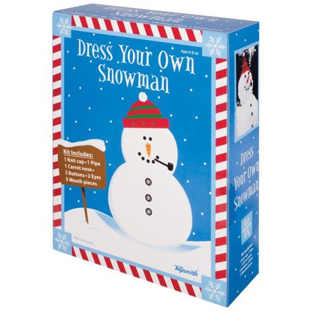 Toysmith Dress A Snowman Kit