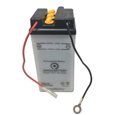 Origin 6N4A-4D Battery, Fits All Branded 6N4A-4D units, Sears 44115