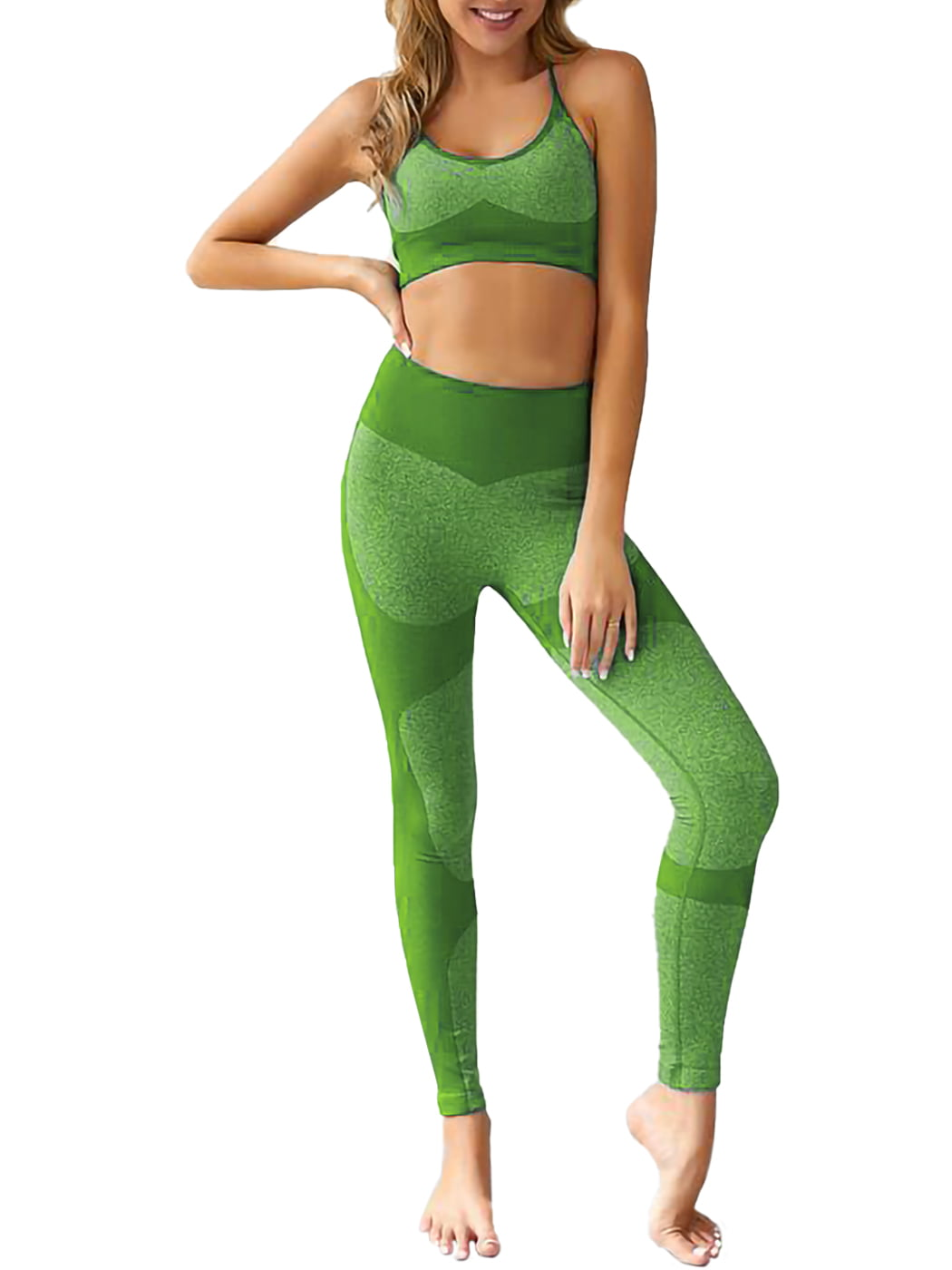 Women/'s Yoga Sets Two pieces Gym Clothing Bra /& Leggings 3D Floral Workout Outfi