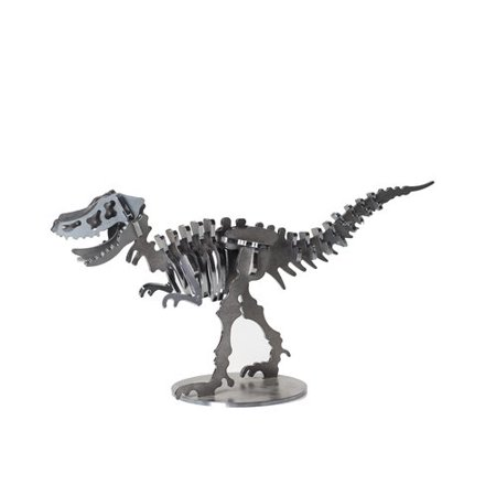 Ironwood Velociraptor Metal Dinosaur 3D Puzzle Figurine