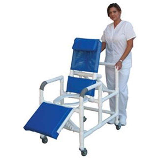 MJM International E193-3TW Echo Reclining Shower Chair