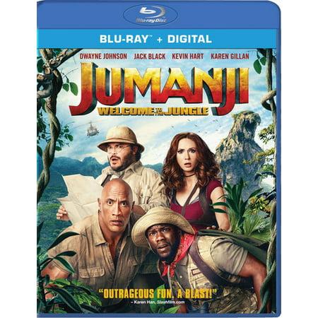 Jumanji: Welcome to the Jungle (Blu-ray + Digital) (VUDU Instawatch Included) (VUDU Instawatch - Halloween H20 Blu Ray Uk