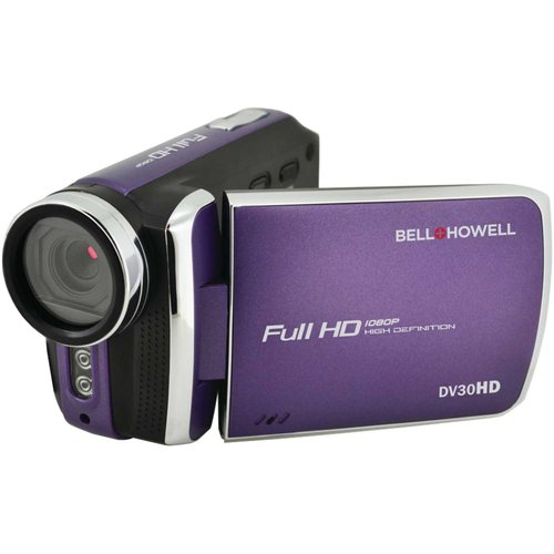 Bell+Howell Purple Dv30hd 1080p Fun-Flix Slim Camcorder