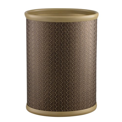 Kraftware San Remo Oval Steel Waste Basket