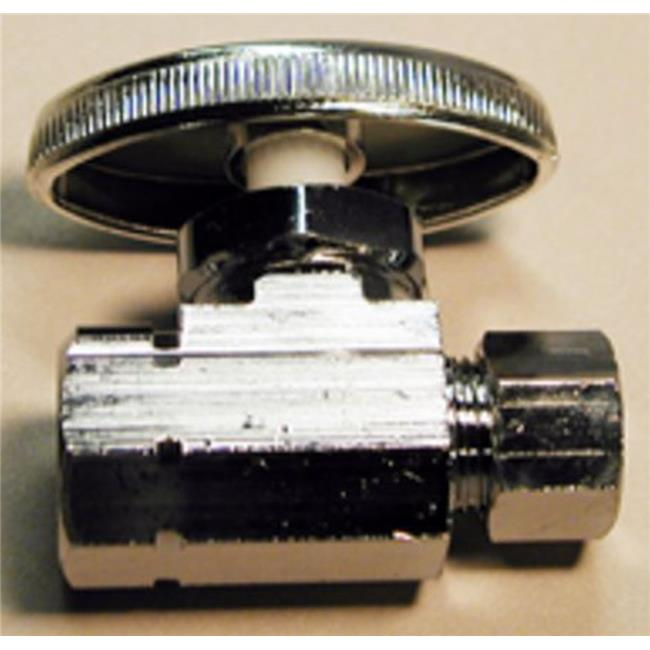 LDR Industries 180445009 0.37 x 0.5 in. Low-Lead Straight Valve - image 1 de 1