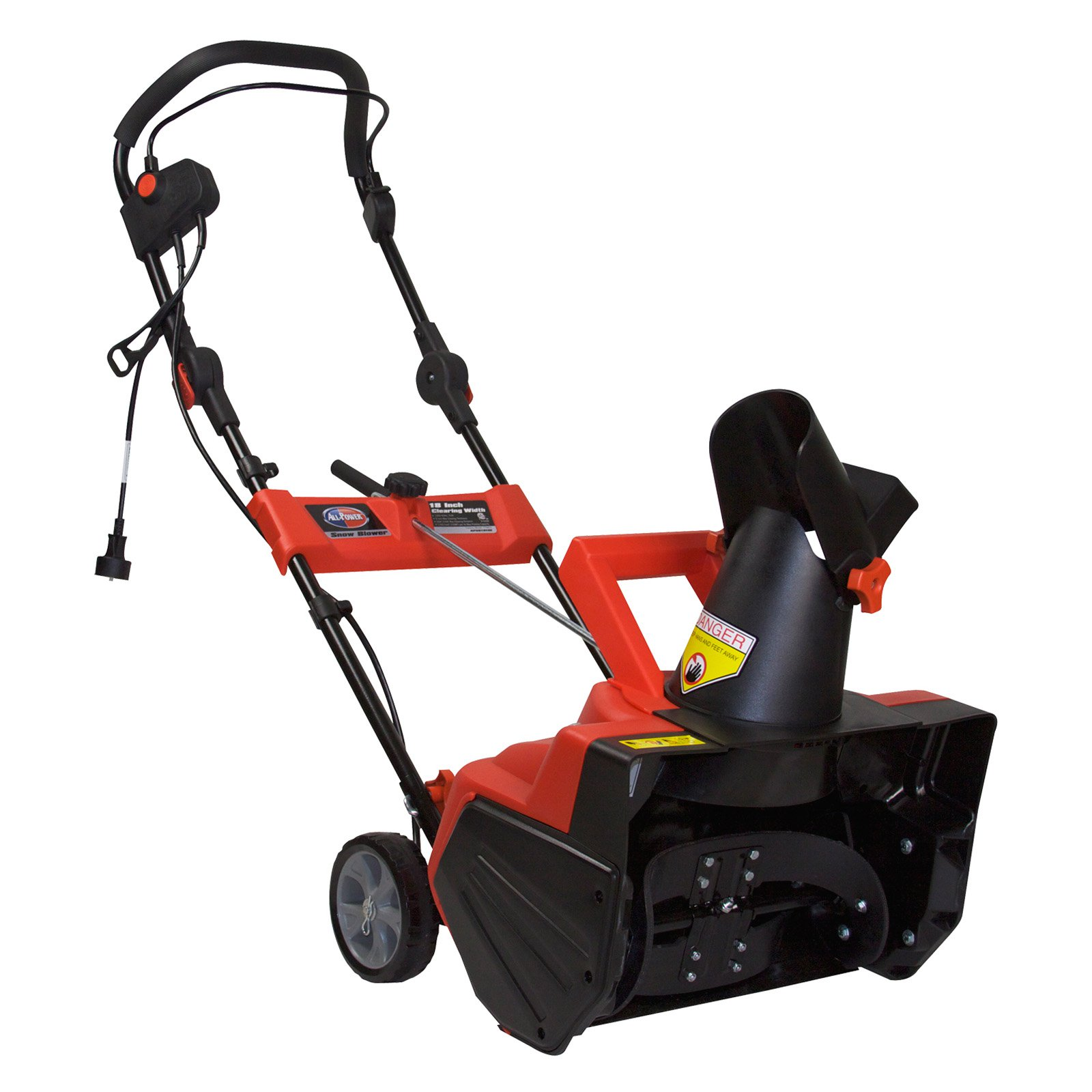 All Power 18 Inch 13.5 AMP Electric Snow Blower