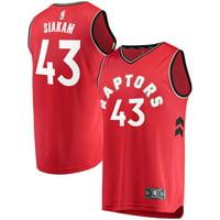Pascal Siakam Toronto Raptors Fanatics Branded Fast Break Player Jersey Red - Icon Edition