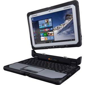 "Panasonic Toughbook CF-20C0001VM 10.1"" Hybrid Netbook w/ 8GB RAM & 128GB SSD"