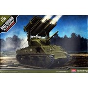 """Academy M4A3 Sherman with T34""""Calliope"""" Model Kit"""