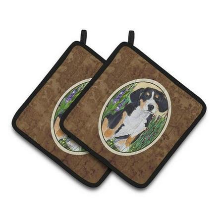 Carolines Treasures SS8216PTHD Entlebucher Mountain Dog Pair of Pot Holders, 7.5 x 3 x 7.5 in. - image 1 de 1
