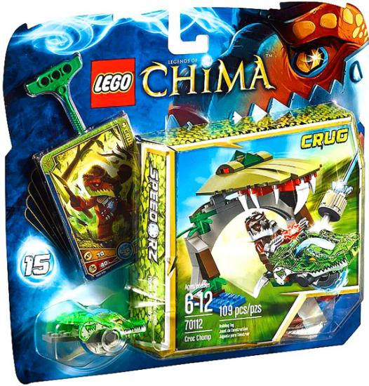 LEGO Legends of Chima Croc Chomp Set #70112