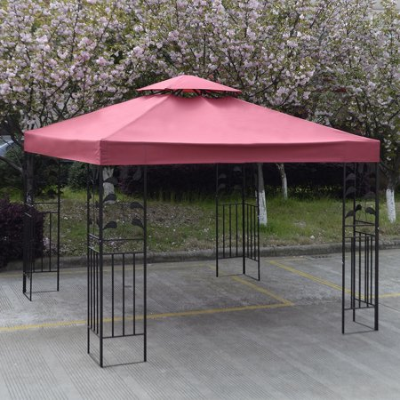 Costway 10 X Gazebo Top Cover Patio Canopy Replacement 2 Tier 3