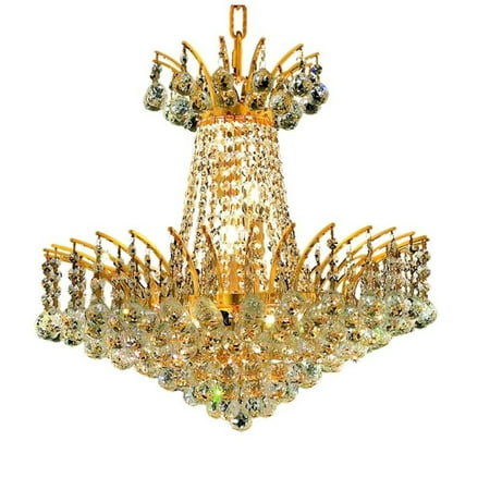 "Elegant Lighting Victoria 19"" 8 Light Elements Crystal Chandelier - image 1 de 1"