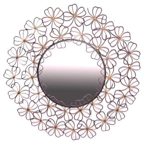 Ashton Sutton Floral Wall Mirror
