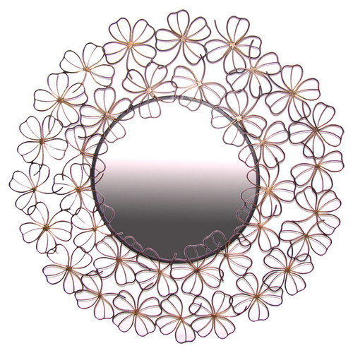 Ashton Sutton Floral Wall Mirror