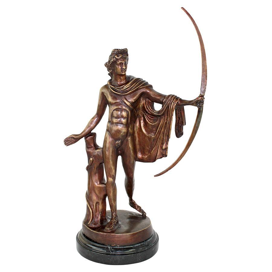 Apollo Belvedere Cast Bronze Statue by Design Toscano