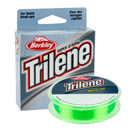 Berkley Trilene Micro Ice Fishing Line (Best Ice Fishing Line)