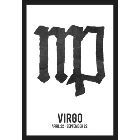 Virgo Astrology Zodiac Symbol Ink Drawing Lantern Press