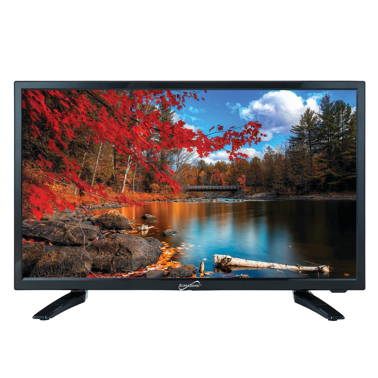 Supersonic SC-2211 1080p Flat Panel LED LED-LCD TV