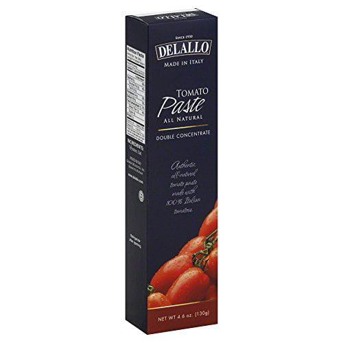 Delallo Tomato Paste Tube Importd 4.6 OZ (Pack of 12)